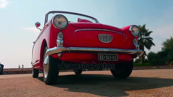Red Autobianchi Bianchina Cabriolet