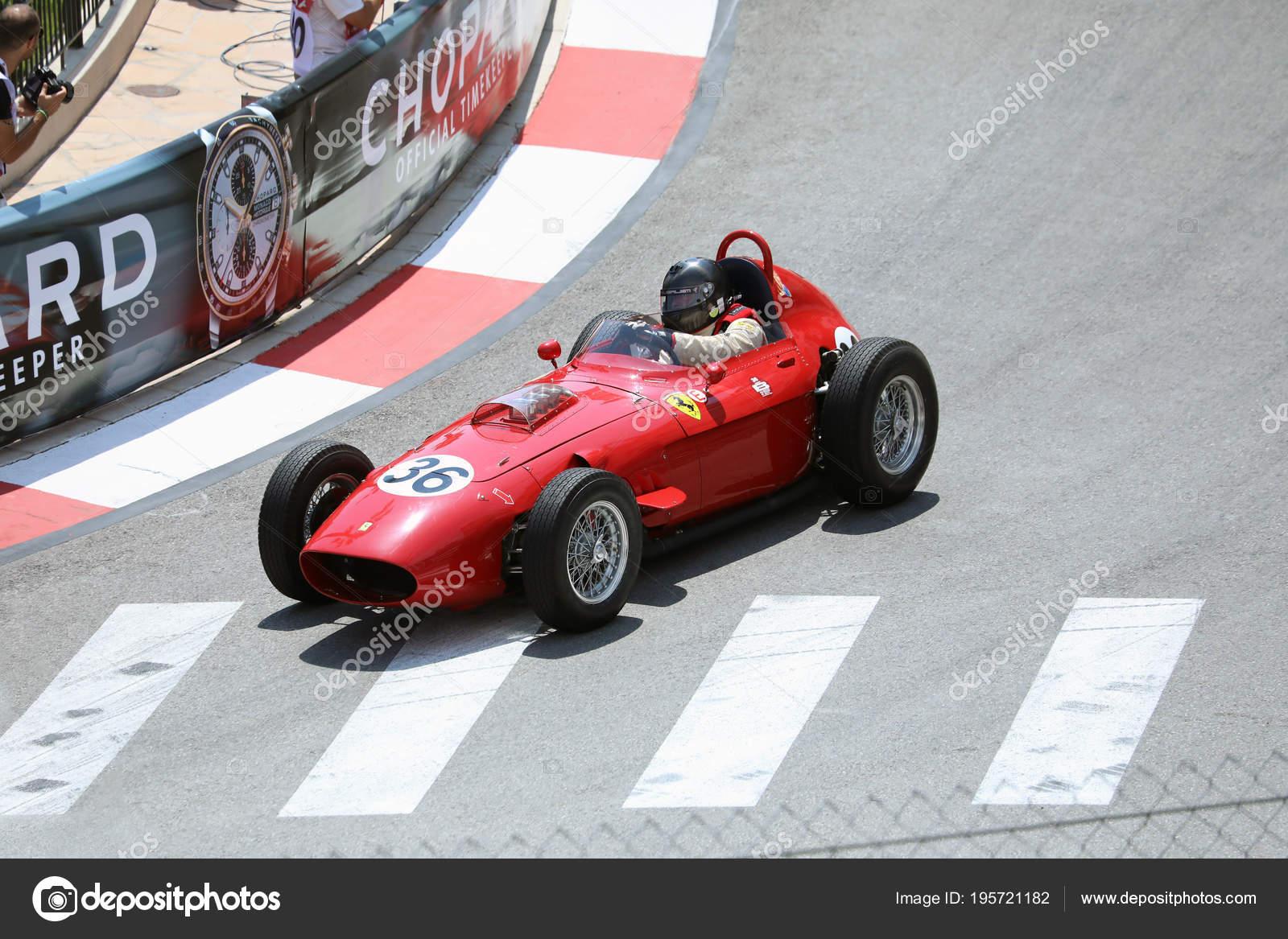 Old ferrari race car