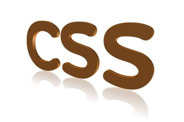 Programming Term - CSS -  Cascading Style Sheet - 3D image