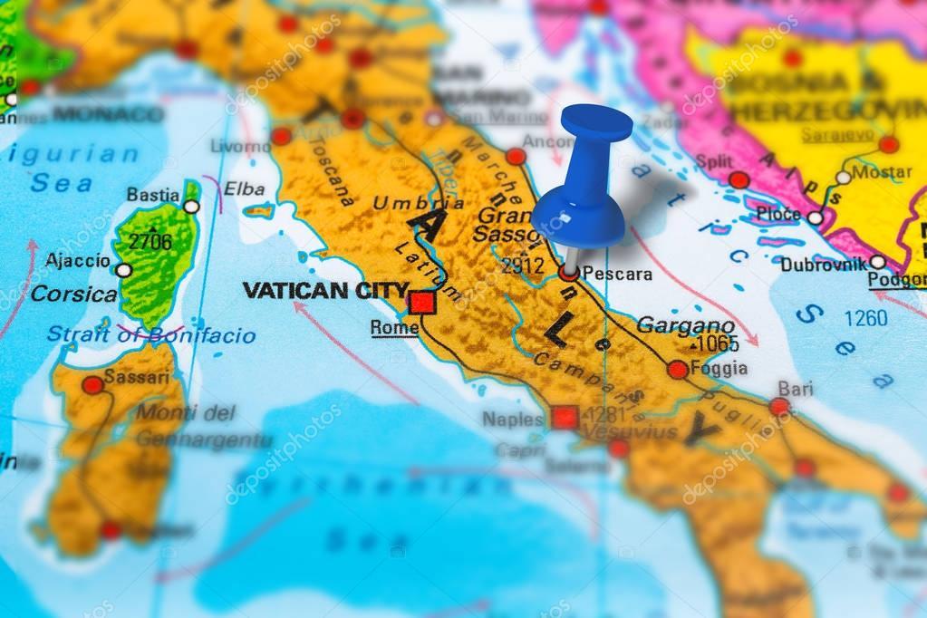 Картинки по запросу пескара на карте италии