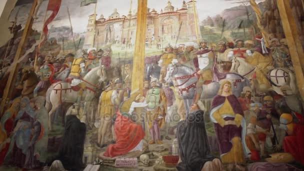 Il dipinto della crocifissione