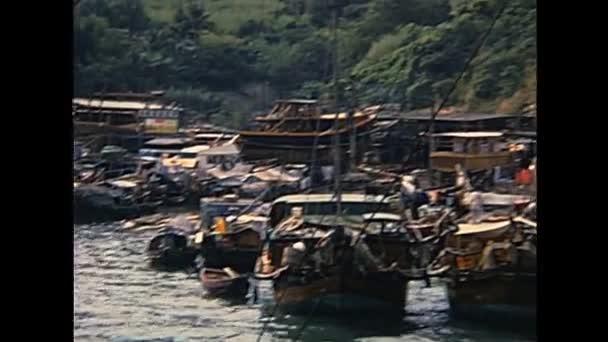 Historic Sampan boats