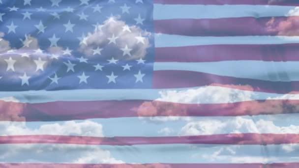 United States American Sky Flag