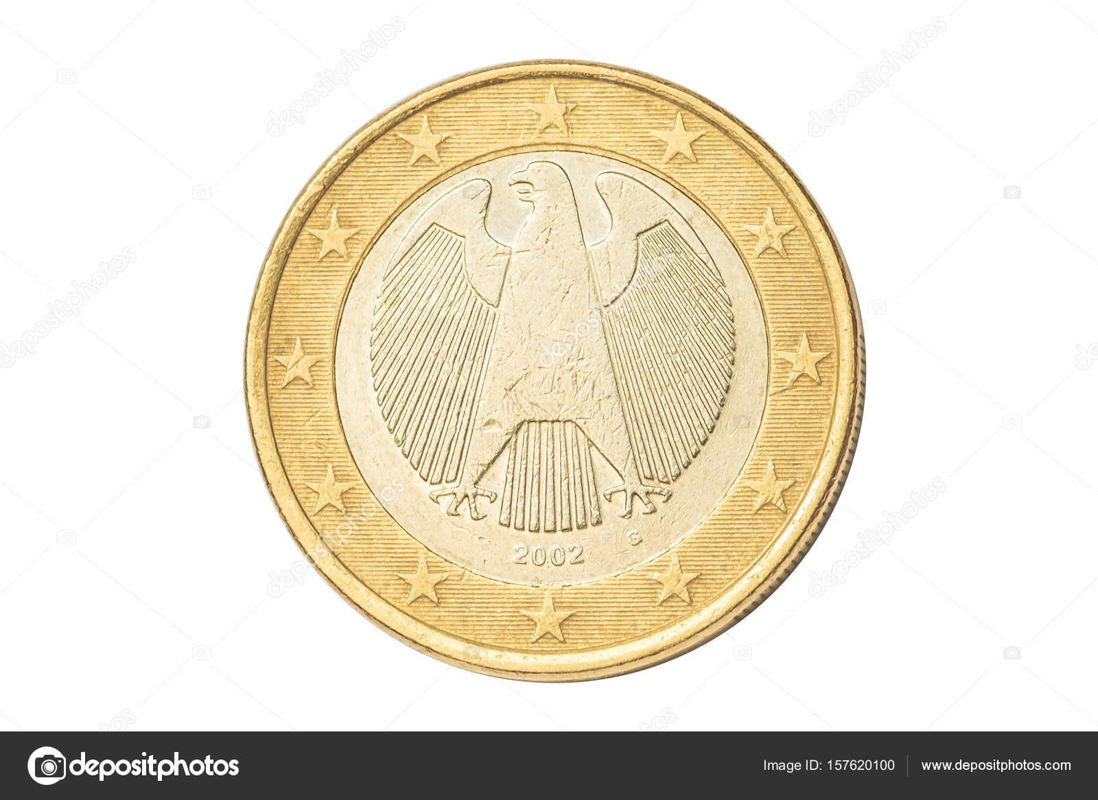 ドイツのユーロ硬貨 — ストック...