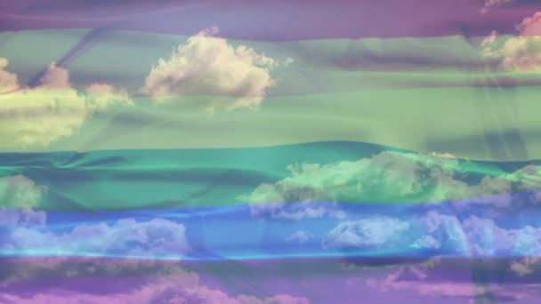 Duhová vlajka Sky
