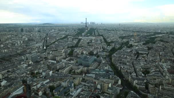Paris aerial time lapse