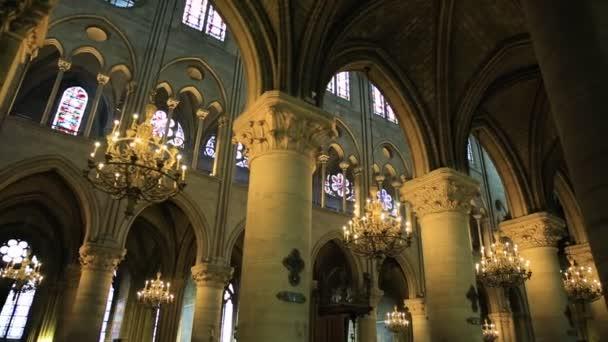 Notre Dame colonnade