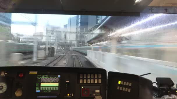 Tokyo Subway POV lapse