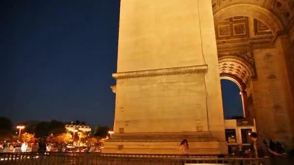 Nacht Hyperlapse Paris