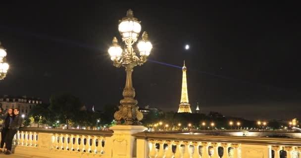 Night walk in Paris