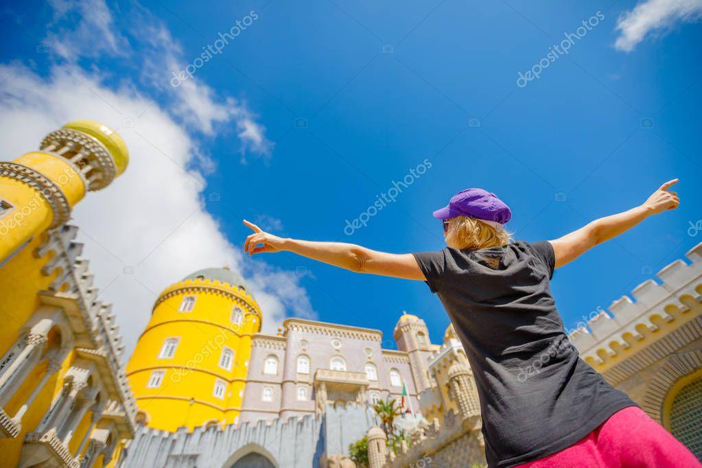 Travel tourist in Sintra