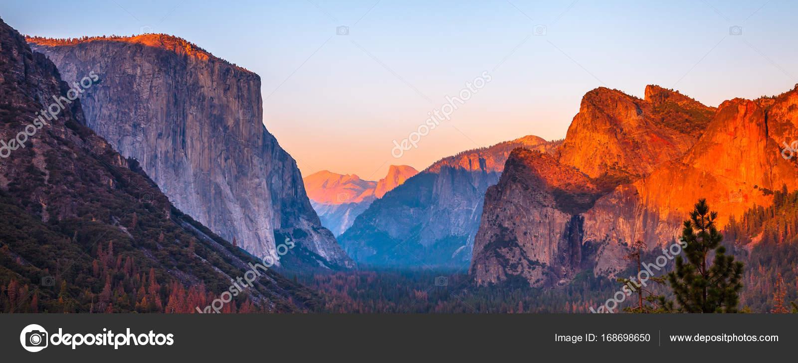 el capitan sunset — stock photo © bennymarty #168698650