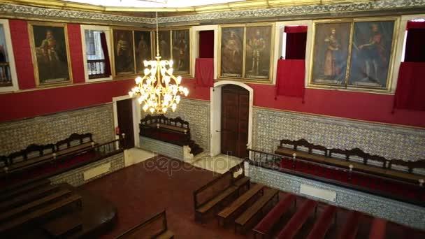 Velký sál univerzity v Coimbře
