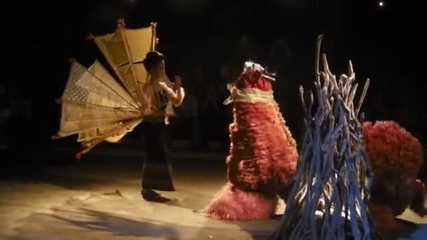 Thai dragon dancer