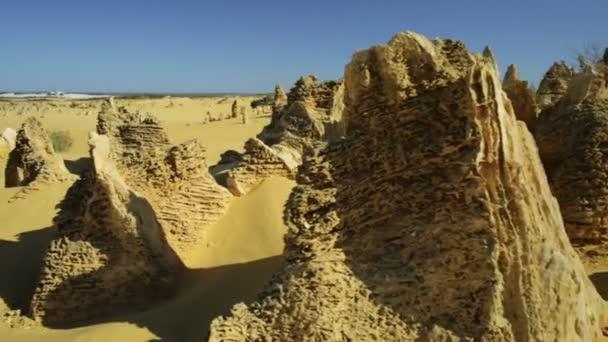 Vrcholy pouštní krajina