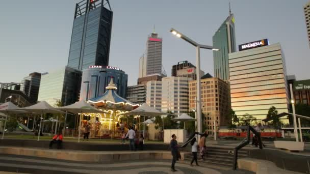 Perth Downtown Sunset