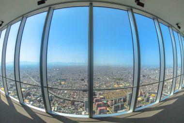 Osaka skyline Observatory