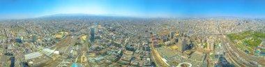 Osaka Panorama Background