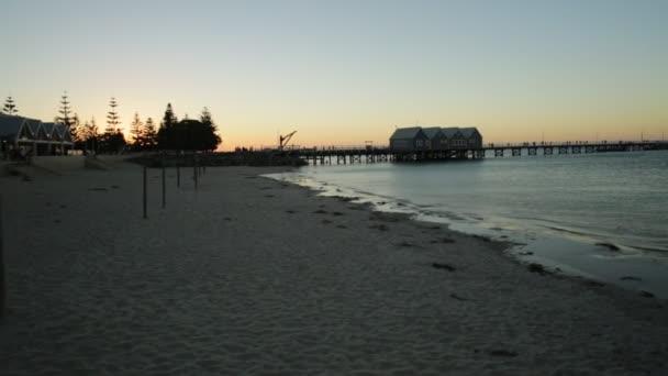 Busselton jetty sunset