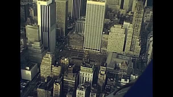 Archivní Manhattan skyline