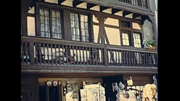 Štrasburk staré silnice obchody
