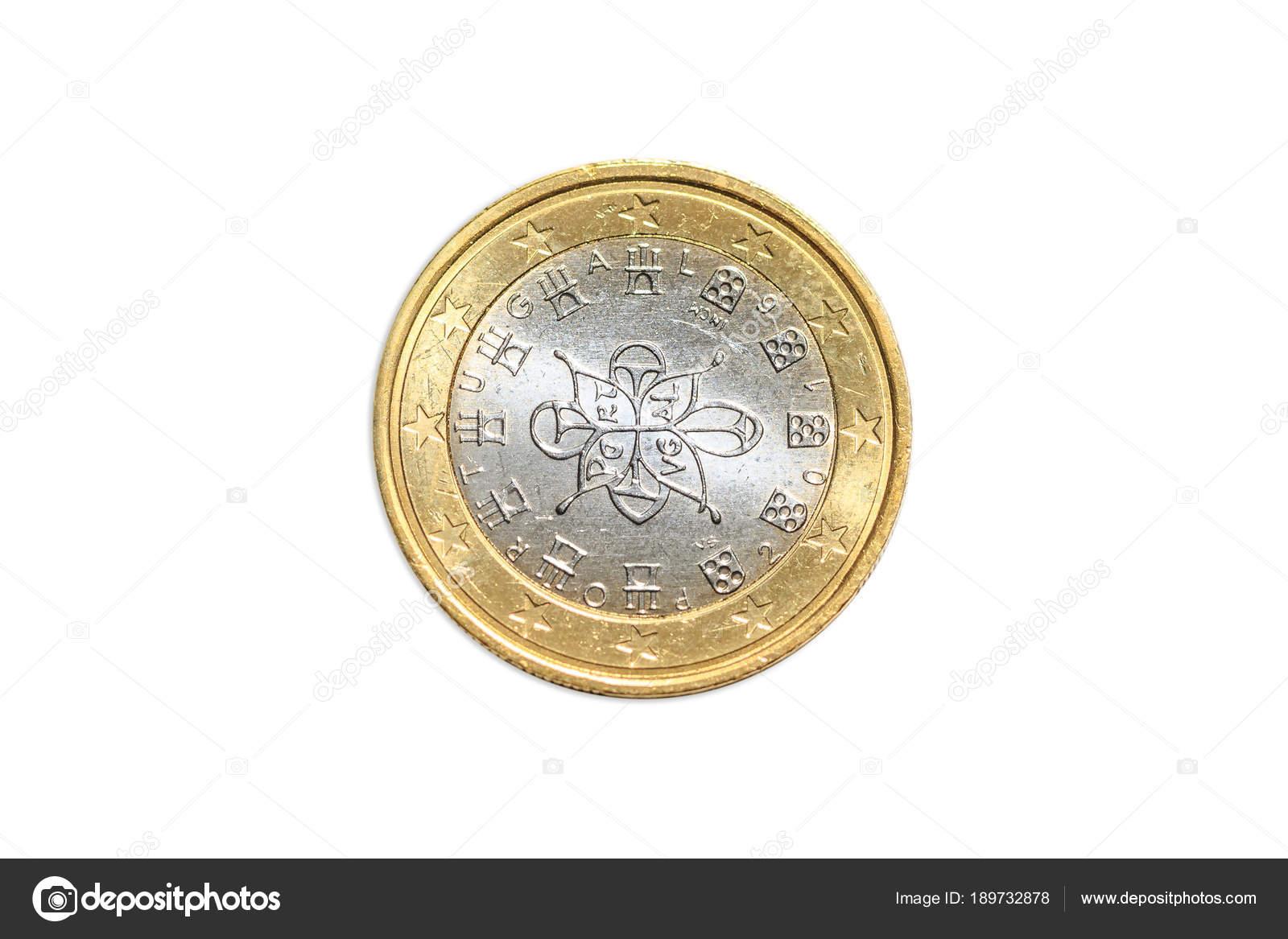 Frankreich Ein Euro Münze Stockfoto Bennymarty 189732878