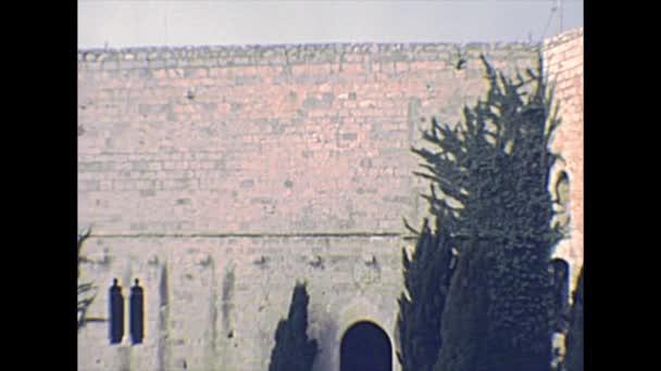 Peniscola Castle in 1970s