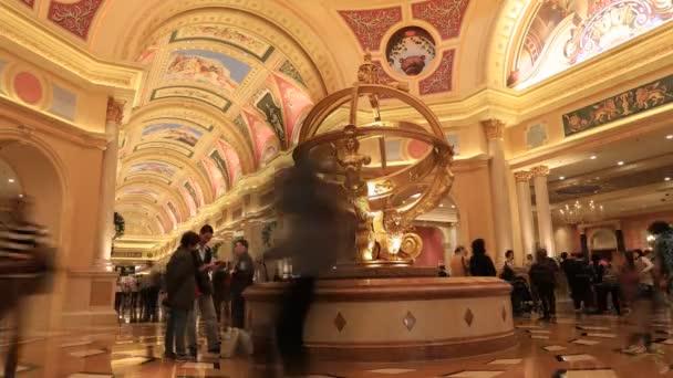 Venetian Casino hall