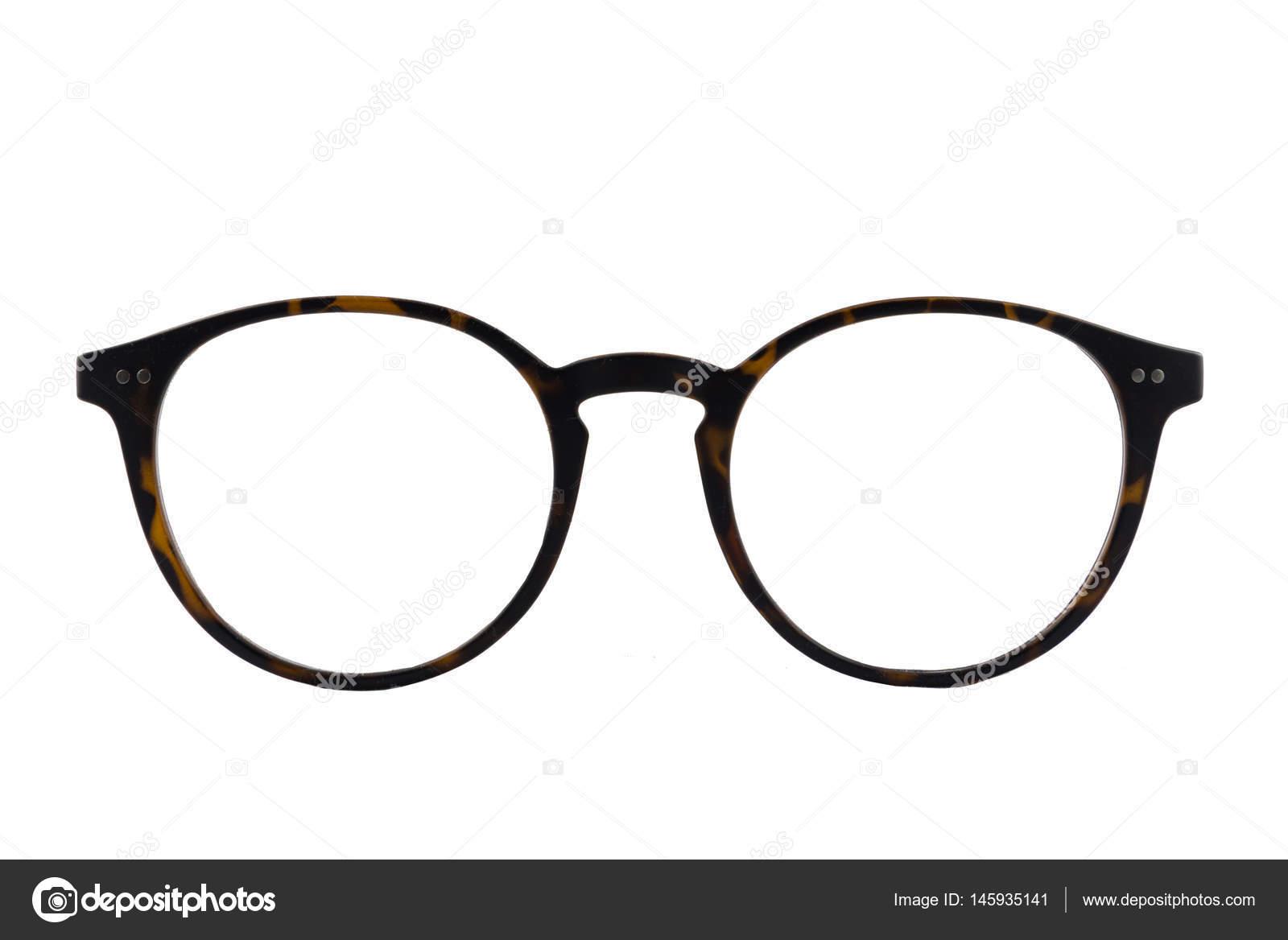 Elszigetelt teknősbékahéj retro kerek szemüveg keret fehér háttér — Fotó  szerzőtől ... e2fcf75369