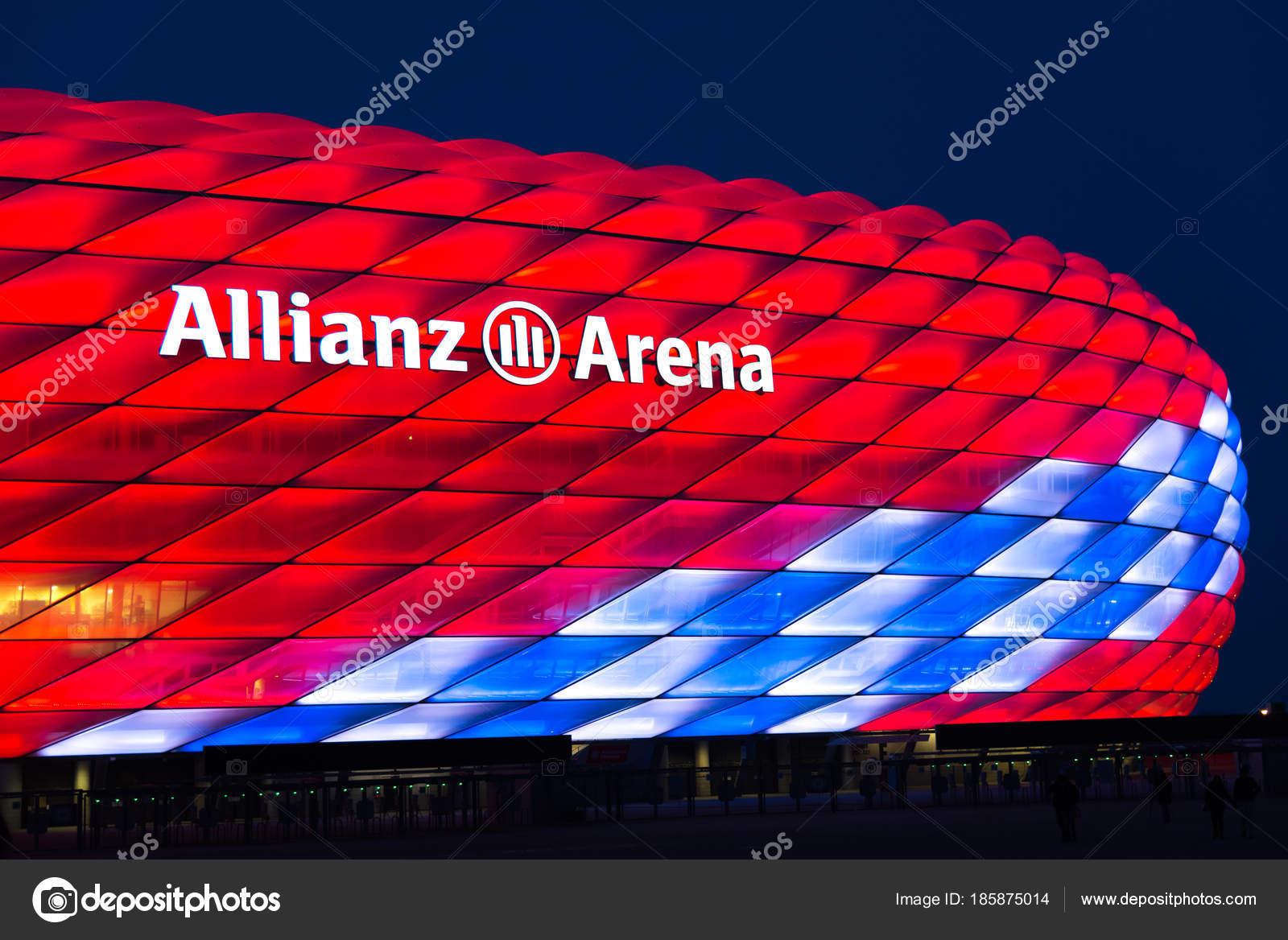 Allianz Arena spezielle Beleuchtung für Fc Bayern München 118 ...