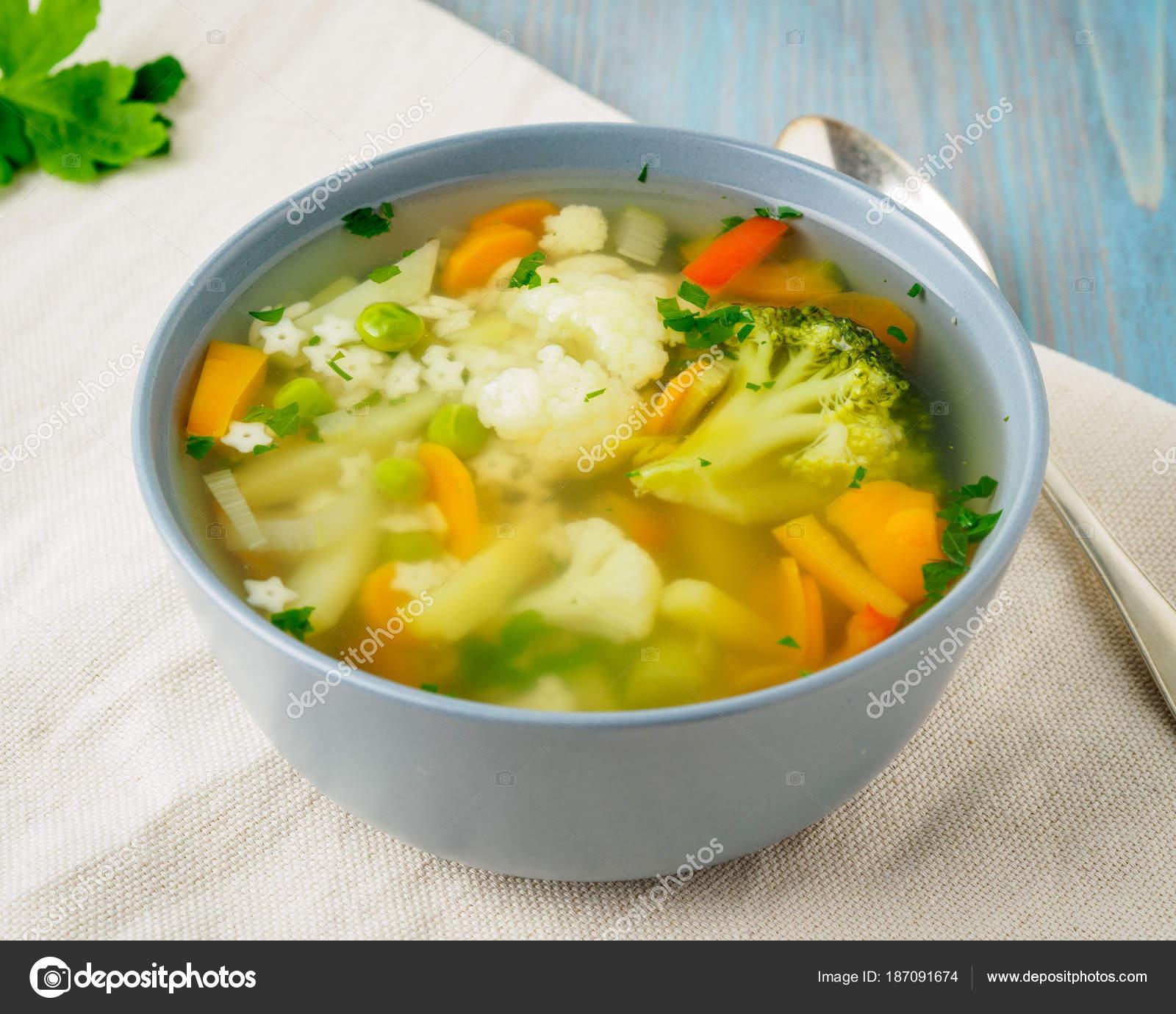 суп вегетарианский из цветной капусты