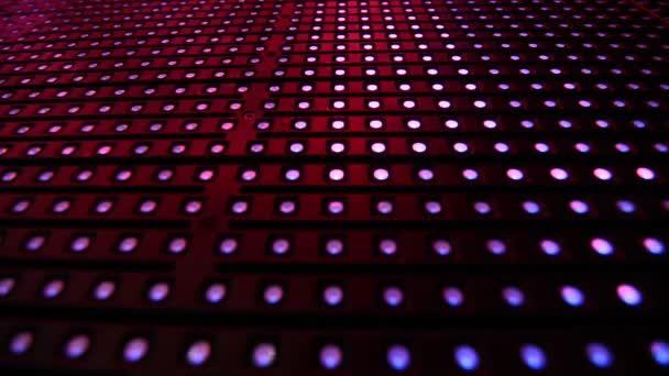 Barevné Svítící dioda blikající světla disca