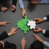 Podnikatelé, kompletace puzzle