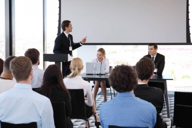 Speaker at conference