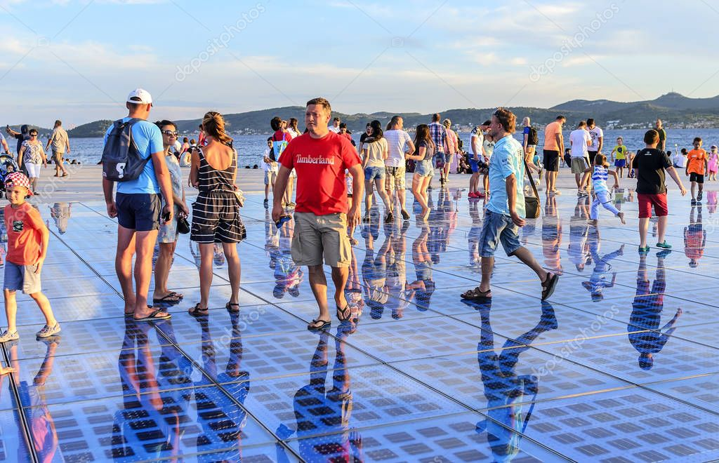 Greeting Sun Zadar, Croatia.