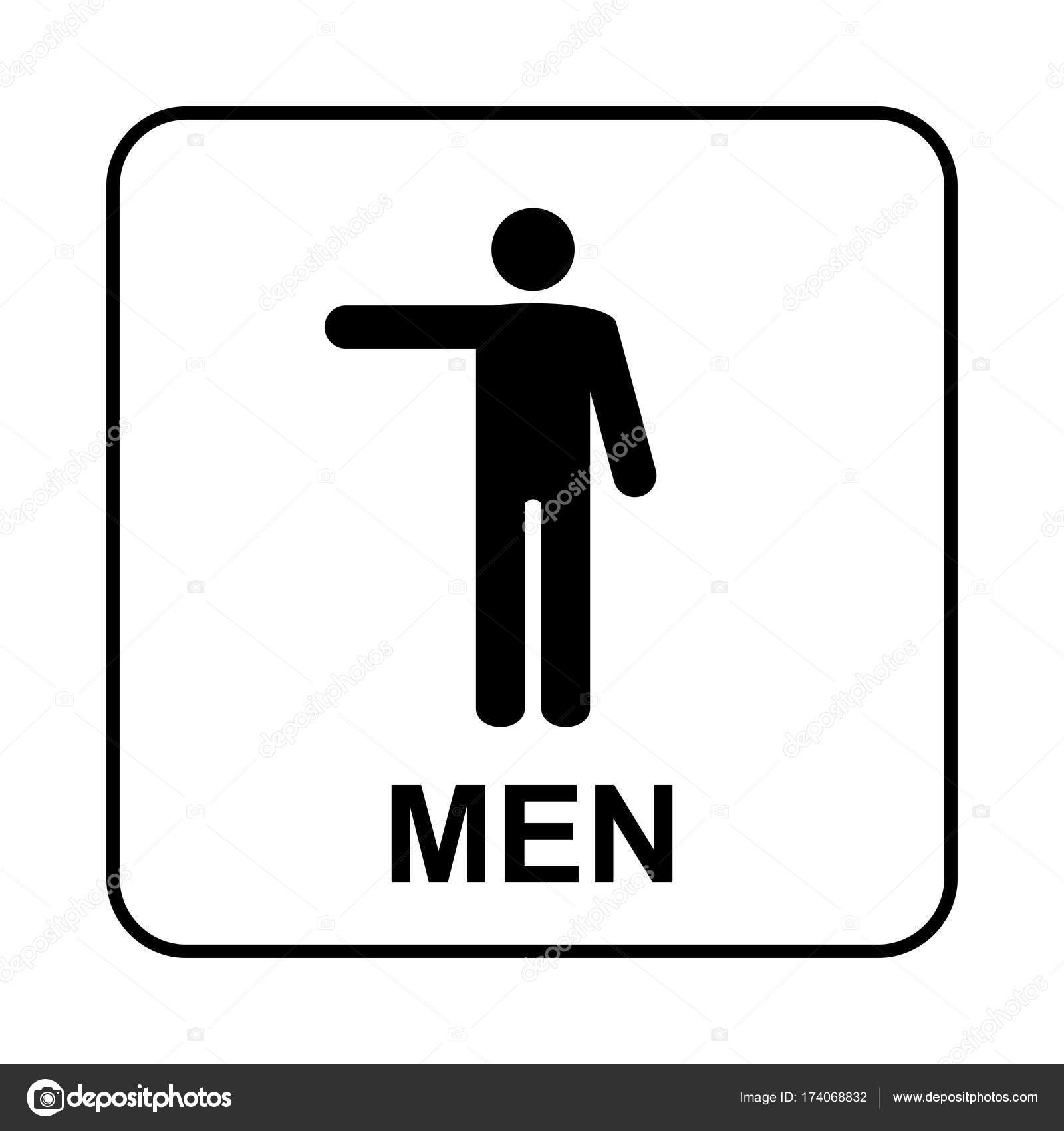 Toilet sign wc men stock vector bumerss 174068832 toilet sign wc men stock vector biocorpaavc Choice Image