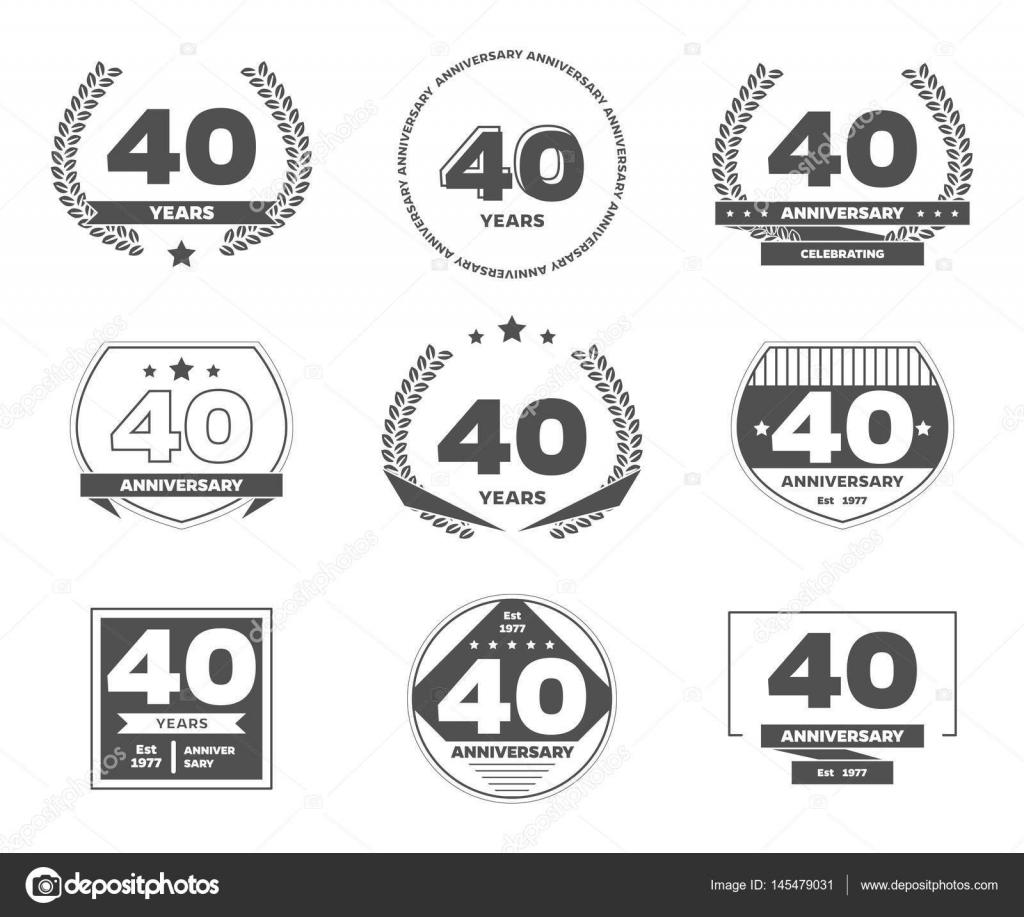 Frases Aniversario 70 Años Logotipo De Celebración De