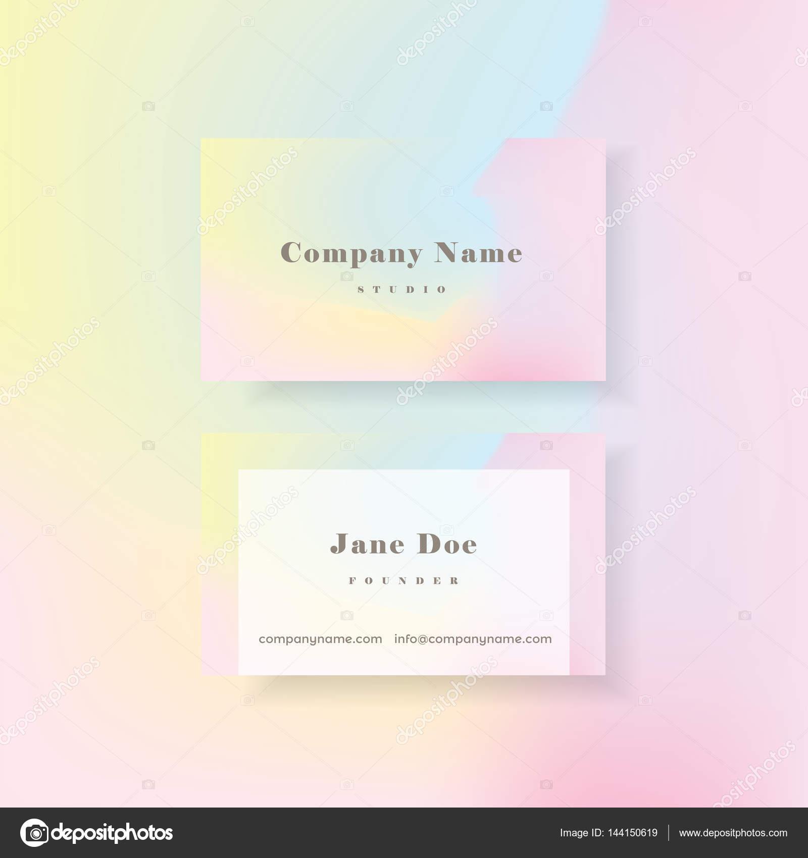 Feminine business card — Stock Vector © DianaHlevnjak #144150619