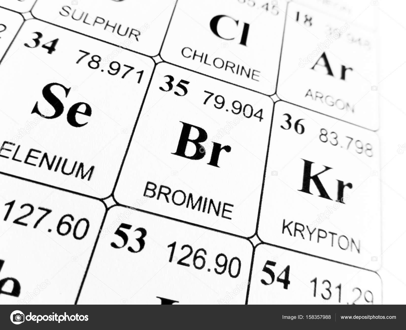 Bromo de la tabla peridica de los elementos foto de stock bromo de la tabla peridica de los elementos foto urtaz Choice Image