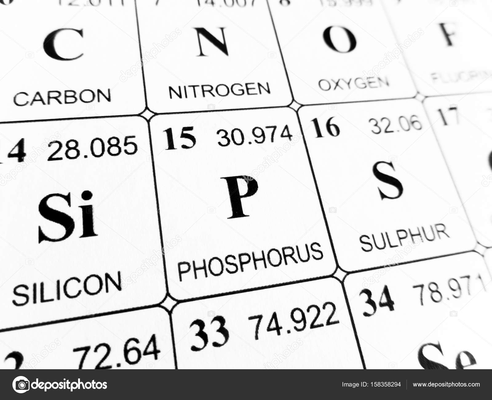 Phosphorus on the periodic table of the elements stock photo phosphorus on the periodic table of the elements stock photo biocorpaavc Gallery