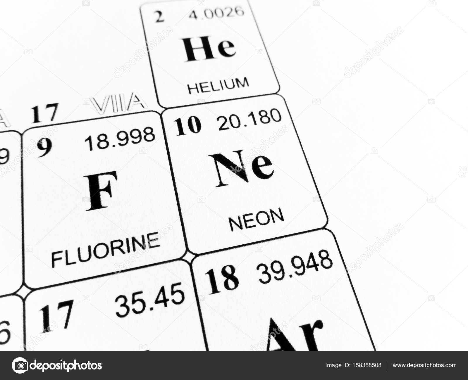 Neon on the periodic table of the elements stock photo neon on the periodic table of the elements stock photo urtaz Choice Image