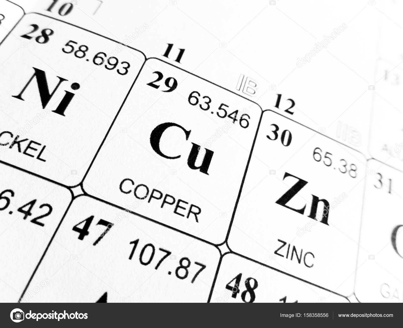 Periodic table of copper image collections periodic table images copper on the periodic table of the elements stock photo copper on the periodic table of gamestrikefo Gallery