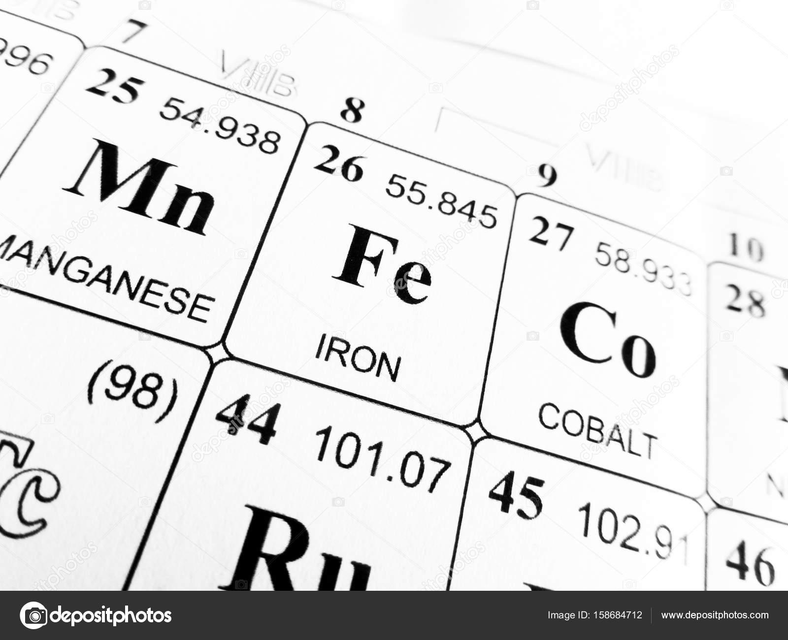 Hierro de la tabla peridica de los elementos foto de stock hierro de la tabla peridica de los elementos foto de stock urtaz Image collections
