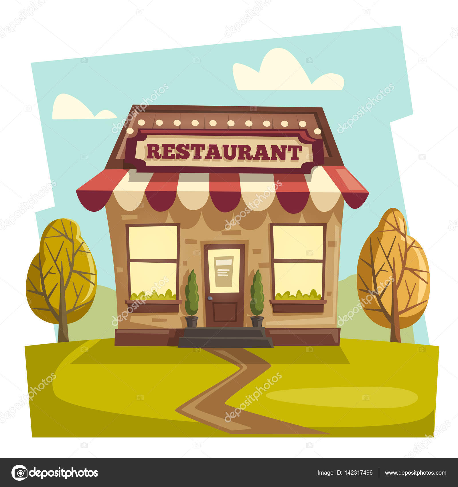 Dibujo de restaurant pictures to pin on pinterest thepinsta for Stock cuisine saint priest