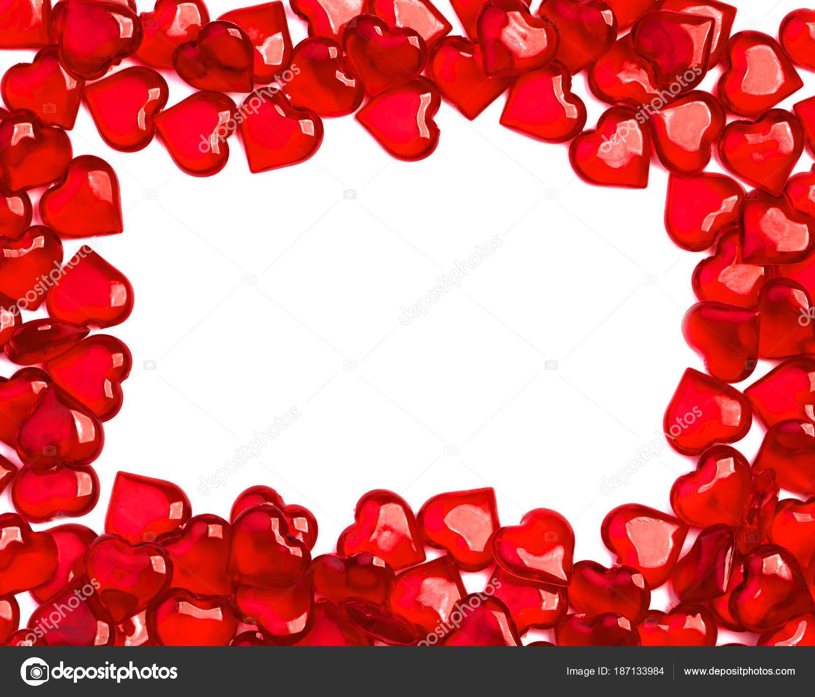 marco de cristal corazón — Foto de stock © lesuhova #187133984