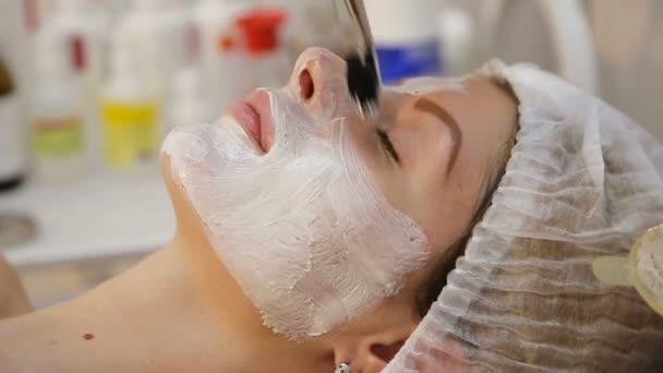 Obličejová maska použita během lázeňské léčby