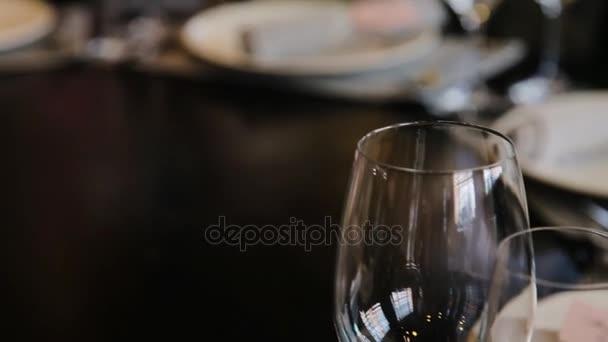 Serving a festive table.