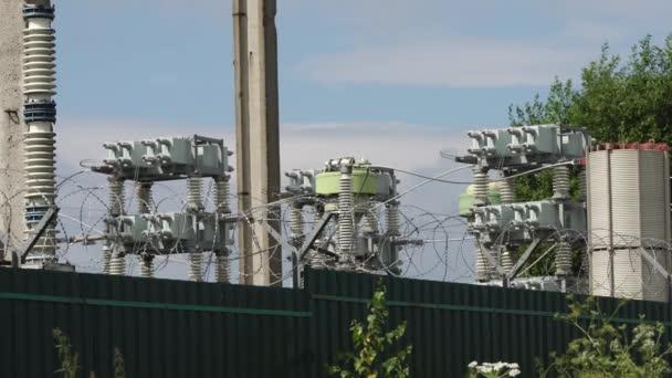 Elektrické rozvodny, napájecí stanice
