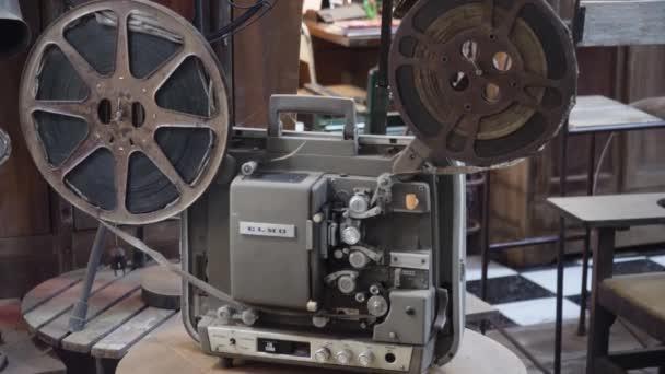Régi filmvetítő, film