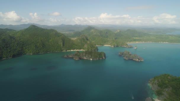 Scenérií ostrovů Caramoan Camarines Sur, Filipíny